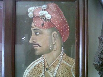 Sadashivrao Bhau - A portrait of Sadashivrao Bhau Peshwa, a part of Peshwa Memorial in Pune, India