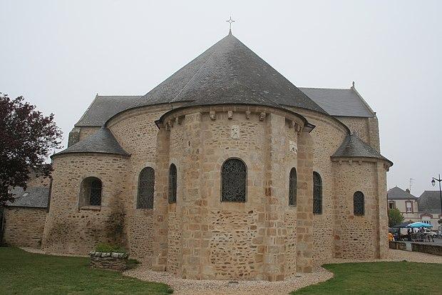 Monument historique à Saint-Gildas-de-Rhuys