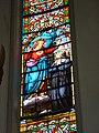 Saint-Sylvestre-Cappel (Nord, Fr) église, vitrail 02.JPG