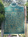 Saint Mary Catholic Cemetery Marker.JPG