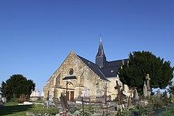 Sainte-Vaubourg (08 Ardennes) - l' Église Notre-Dame - Photo Francis Neuvens lesardennesvuesdusol.fotoloft.fr jpg.JPG