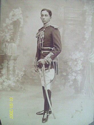 Mir Yousuf Ali Khan, Salar Jung III - Image: Salarjung II Ib