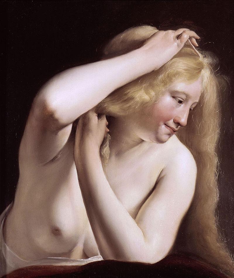 Salomon de Bray - Jeune femme.JPG