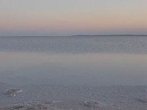 Lake Tuz - Image: Salt Lake Tuz Turkey