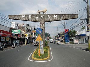 San Pablo, Laguna - Jose Rizal Avenue
