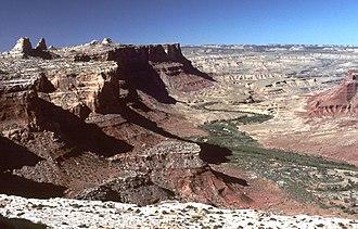 San Rafael River - San Rafael River Gorge, Utah