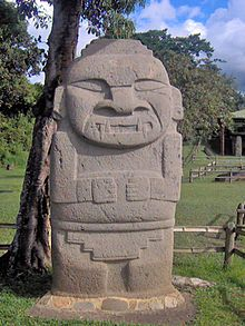Jaguar San Jose >> Escultura de Colombia - Wikipedia, la enciclopedia libre
