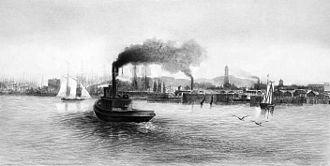 William Richard Williamson - San Francisco Bay c.1889