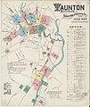 Sanborn Fire Insurance Map from Taunton, Bristol County, Massachusetts. LOC sanborn03864 001-1.jpg