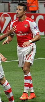 Alexis snchez wikipedia snchez with arsenal in 2014 stopboris Images