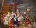 Sandrart - The Duchess Johanna Elisabeth of Württemberg and her family.png