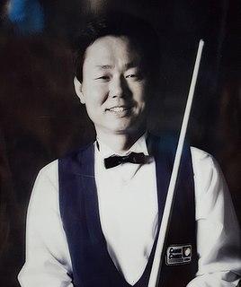 Sang Lee South Korean billiards player