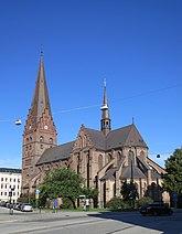 Fil:Sankt Petri kyrka, Malmö, augusti 2013.jpg