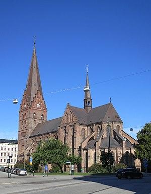 Sankt Petri Church, Malmö - Sankt Petri Church, 2013.