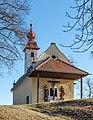 Sankt Veit an der Glan Kalvarienbergstraße Kalvarienbergkapelle Maria Loretto WNW-Ansicht 27122018 5737.jpg