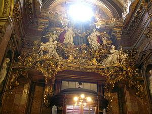 Organ, Santa Maria Maddalena, Rome