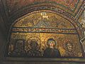 Santa Prassede-Holy Virgin, St Praxedes and Pudentiana, Theodora.jpg