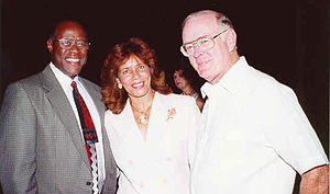 Charles Taylor Manatt - Image: Santo Domingo Mayor Johnny Ventura with US Amb to DR, Charles Manatt