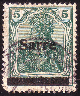 Postage stamps and postal history of the Saar