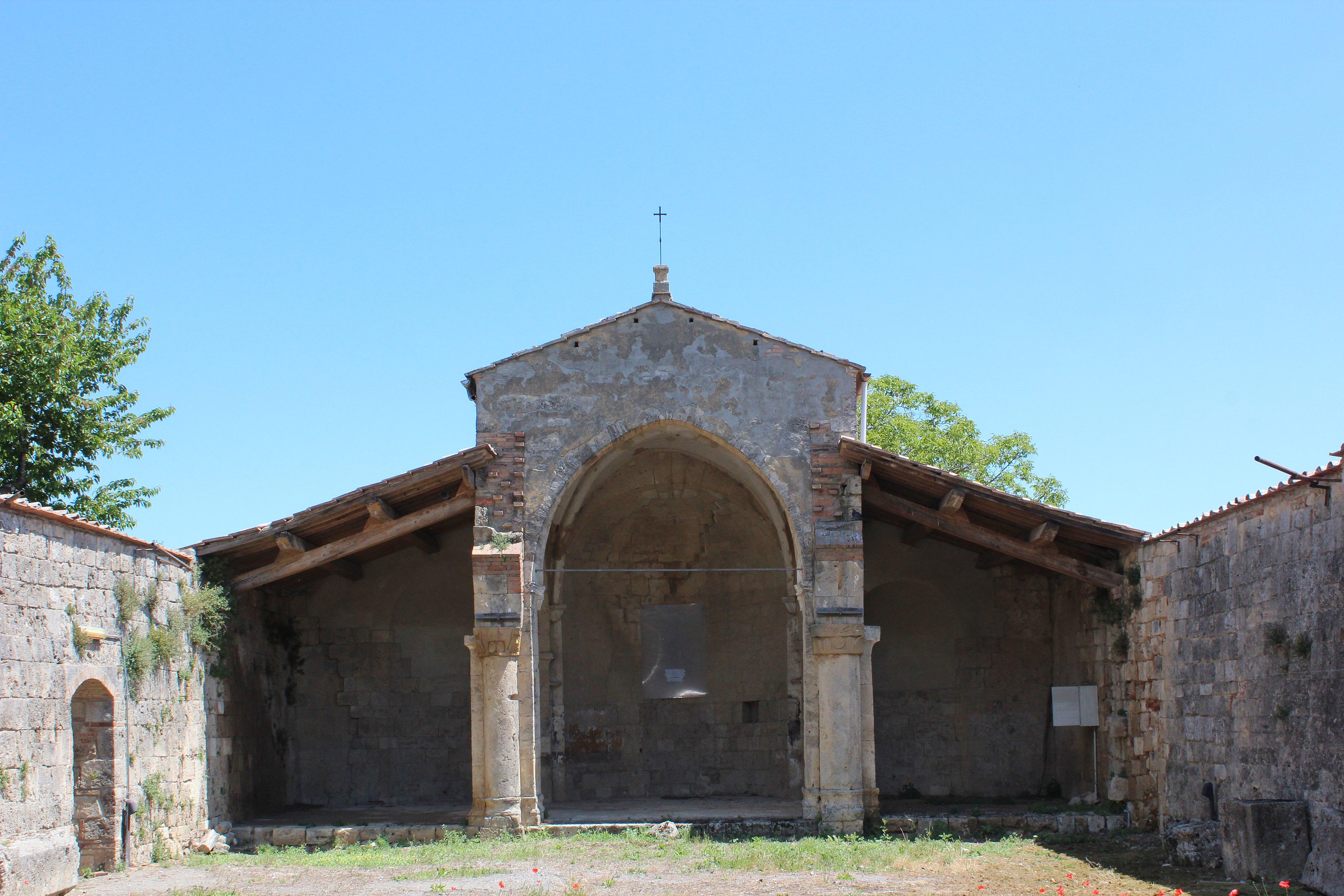 Churchruin Pieve di Santa Vittorio in Sarteano