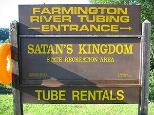 Farmington River - Satan's Kingdom offers tubing on the Farmington River.