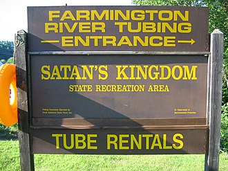 Farmington River - Satan's Kingdom offers tubing on the Farmington River.