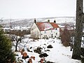 Scale Cross in the Snow - geograph.org.uk - 1635784.jpg