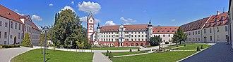 Scheyern Abbey - Panorama of Scheyern Abbey