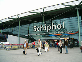Schiphol Airport railway station