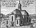 Schleuen - Luthersich-Reformierte Teutsche wie auch Französische Kirche 1757.jpg