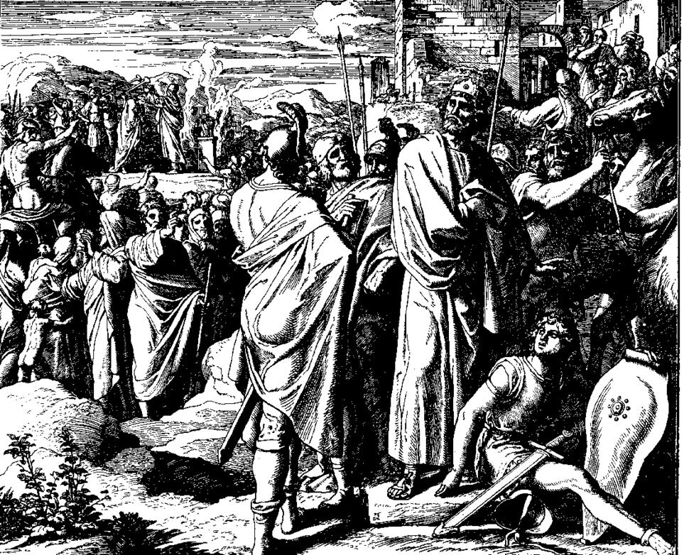 Schnorr von Carolsfeld Bibel in Bildern 1860 113