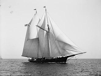 Ogden Goelet - Goelet's 1881 Norseman schooner