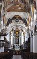 Schussenried Klosterkirche Chorbogen und Chor 01.jpg