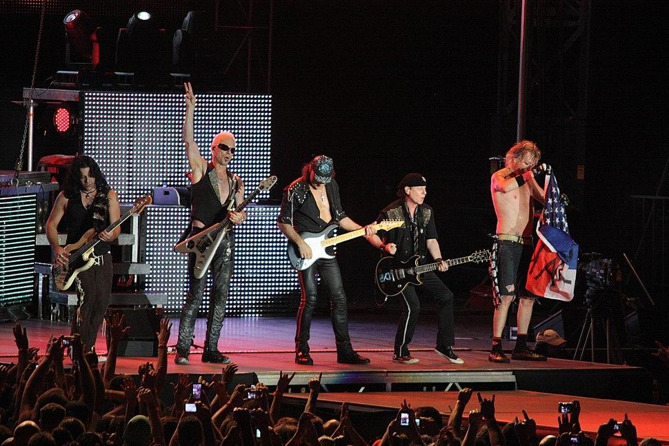 Scorpions live 2010