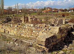 Ruins of the ancient city of Sebaste near Sivaslı
