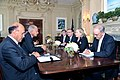 Secretary Clinton Holds a Bilateral Meeting With Egyptian Foreign Minister Gheit (4946874836).jpg