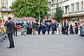 Secretary Kerry Lays Flowers at Monument of Remembrance in Luxembourg City (28346494755).jpg