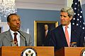Secretary Kerry and Libyan Prime Minister al-Thinni Address Reporters August 2014.jpg