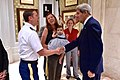 Secretary Kerry shares a laugh and thanks with members of US Embassy, New Delhi staff.jpg