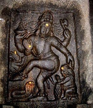 Avanibhajana Pallaveshwaram temple - Sculpture of Nataraja