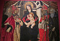 Seguace del ghirlandaio, madonna col bambino e santi, da s. donato a castelnuovo dei sabbioni (cavriglia), 1485-95 ca. 02.JPG