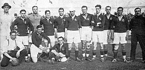 History of the Spain national football team - The Spanish squad that played at the 1920 Summer Olympics.