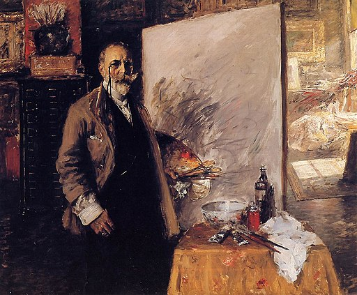 Self Portrait William Merritt Chase