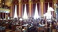 Senate President Jack Kibbie, D-Emmetsburg, prepares to gavel in.jpg