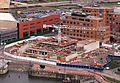 Senedd construction site - aerial view April 2004.jpg