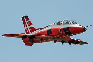 Soko G-4 Super Galeb - A Serbian Air Force G-4T (serial 23601) used as a target tug.