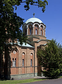 Serbian Orthodox Church of St Lazar in Birmingham.jpg
