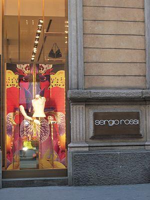 Sergio Rossi - Sergio Rossi boutique, Via Montenapoleone Milano