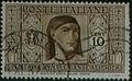 Serie società pro-DanteAlighieri - francobolli del Regno d'Italia - 1932 - Giovanni Boccaccio.jpg