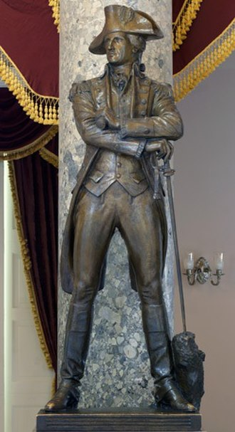John Sevier - Statue of Sevier in the National Statuary Hall Collection